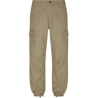Regular | Trousers | Sand
